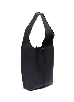 Detail View - Click To Enlarge - ACNE STUDIOS - 'Adrienne' large leather tote bag