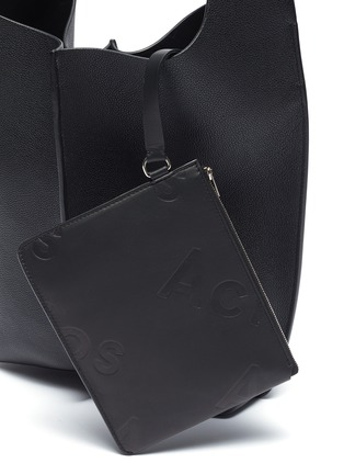 - ACNE STUDIOS - Large leather tote bag