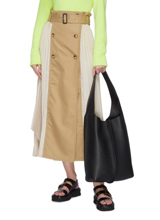 Figure View - Click To Enlarge - ACNE STUDIOS - Large leather tote bag