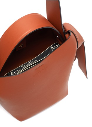 Detail View - Click To Enlarge - ACNE STUDIOS - Mini leather tote bag