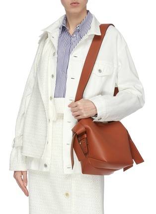Figure View - Click To Enlarge - ACNE STUDIOS - Mini leather tote bag