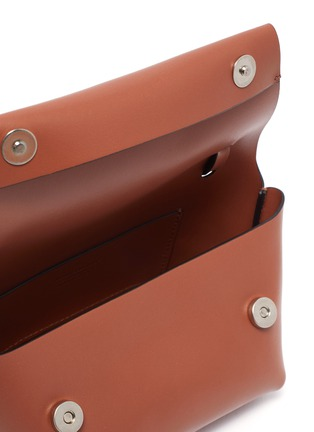 Detail View - Click To Enlarge - ACNE STUDIOS - Knot detail crossbody leather mini bag