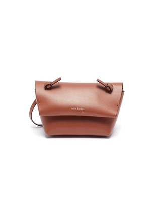 Main View - Click To Enlarge - ACNE STUDIOS - Knot detail crossbody leather mini bag