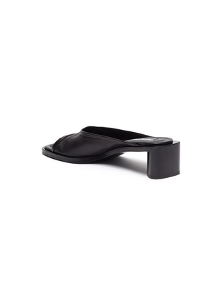 - ACNE STUDIOS - Open-toe leather mules