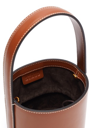 Detail View - Click To Enlarge - STAUD - 'Bissett' leather bucket bag