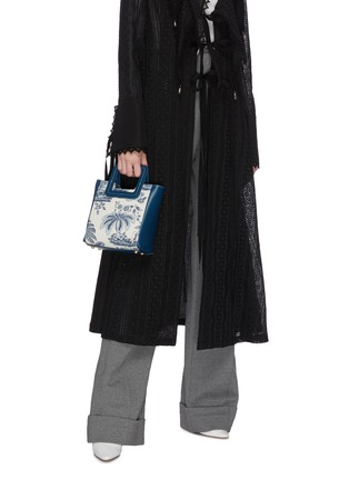 Figure View - Click To Enlarge - STAUD - 'Shirley' mini painted canvas tote