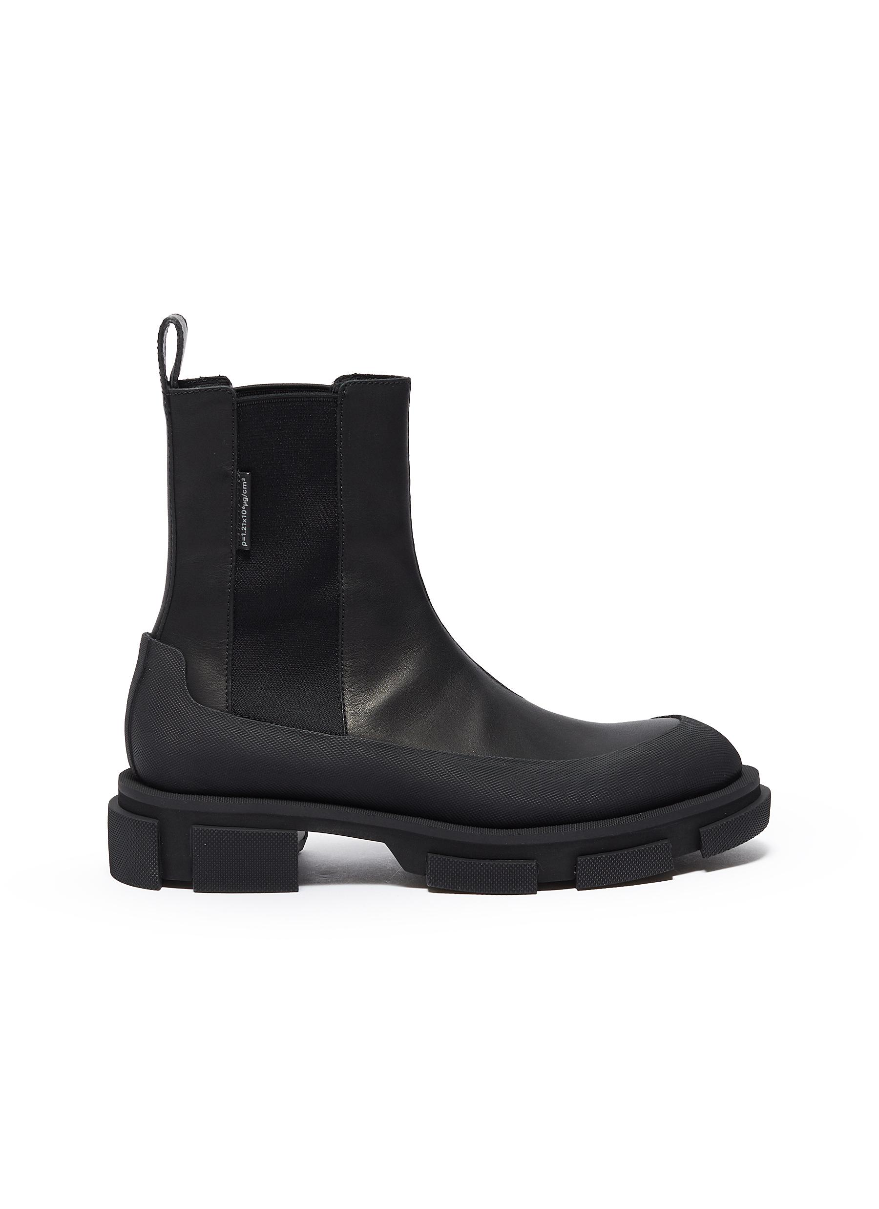 shop Both 'Gao Chelsea' leather chunky boots online