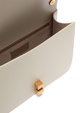 Detail View - Click To Enlarge - SAINT LAURENT - 'Carre' leather shoulder bag