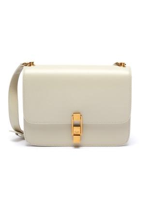 Main View - Click To Enlarge - SAINT LAURENT - 'Carre' leather shoulder bag
