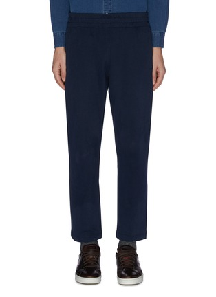 Main View - Click To Enlarge - BRIONI - Cotton jersey jogging pants