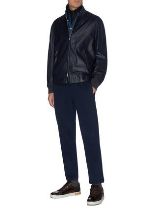 Figure View - Click To Enlarge - BRIONI - Cotton jersey jogging pants