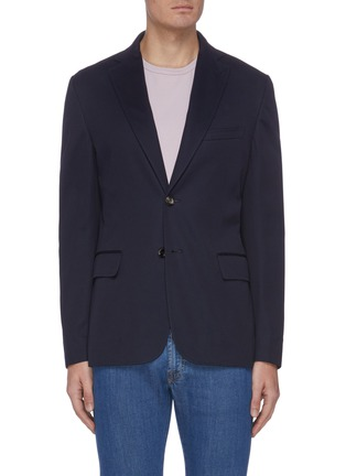 Main View - Click To Enlarge - BRIONI - Notch lapel tailored blazer