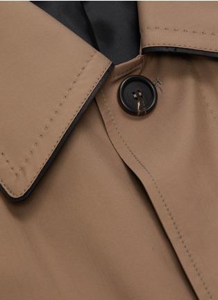 - BRIONI - Waterproof trench jacket