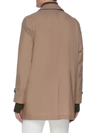 Back View - Click To Enlarge - BRIONI - Waterproof trench jacket