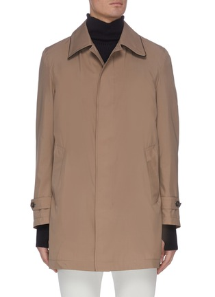 Main View - Click To Enlarge - BRIONI - Waterproof trench jacket