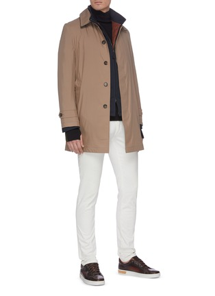 Figure View - Click To Enlarge - BRIONI - Waterproof trench jacket