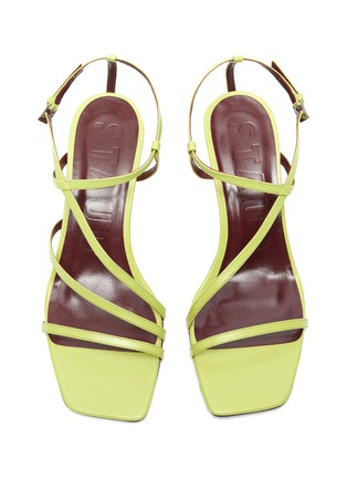 Detail View - Click To Enlarge - STAUD - Mismatched strappy leather sandals