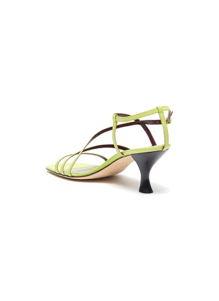 - STAUD - Mismatched strappy leather sandals