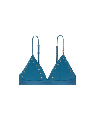 Main View - Click To Enlarge - Love Stories - 'Mon Amour' stud triangle bralette