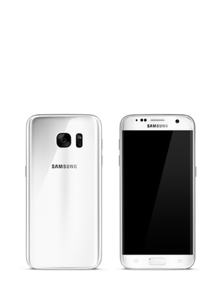 Main View - Click To Enlarge - Samsung - Galaxy S7 32GB - White