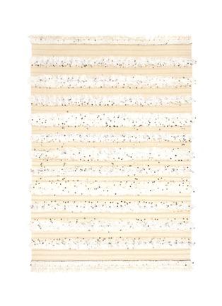Main View - Click To Enlarge - KHMISSA MOROCCO DESIGN - Small vintage Berber wedding rug