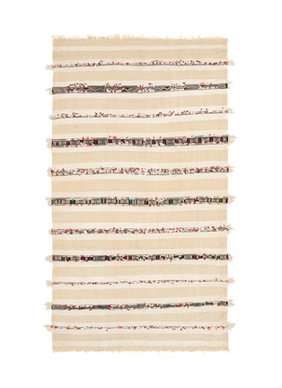 Main View - Click To Enlarge - KHMISSA MOROCCO DESIGN - Large vintage Berber wedding rug runner