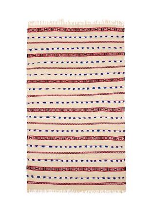 Main View - Click To Enlarge - KHMISSA MOROCCO DESIGN - Large vintage Berber wedding rug
