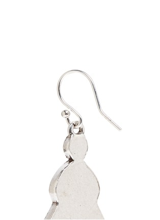 Detail View - Click To Enlarge - Philippe Audibert - 'Lozzi' lapis stone earrings