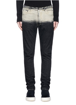 Detail View - Click To Enlarge - Rick Owens DRKSHDW - 'Torrence' dégradé straight leg jeans