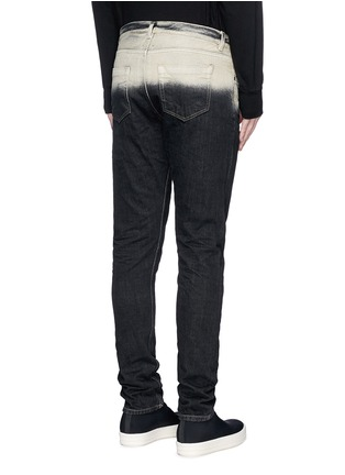 Back View - Click To Enlarge - Rick Owens DRKSHDW - 'Torrence' dégradé straight leg jeans
