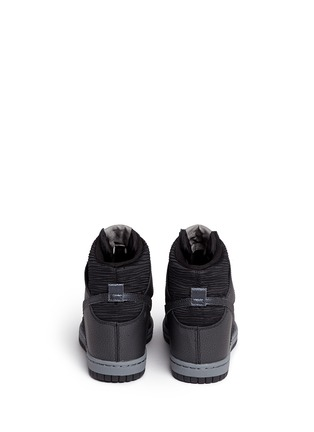 Back View - Click To Enlarge - Nike - 'Dunk Sky Hi' concealed wedge sneakers