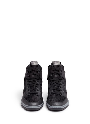 Front View - Click To Enlarge - Nike - 'Dunk Sky Hi' concealed wedge sneakers