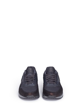Front View - Click To Enlarge - Nike - 'Air Max 1 Premium' waxed leather textile sneakers
