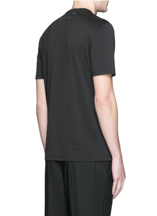 Back View - Click To Enlarge - MAISON MARGIELA - Logo print T-shirt