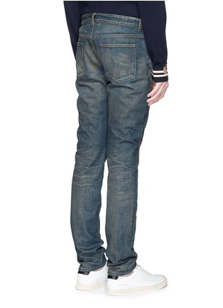 Back View - Click To Enlarge - Maison Margiela - Washed slim fit jeans