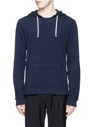 Main View - Click To Enlarge - Maison Margiela - Raw edge crew neck hoodie