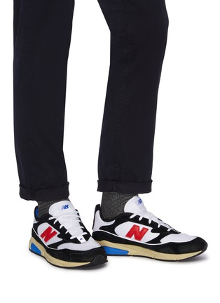 Figure View - Click To Enlarge - NEW BALANCE - 'XRCS' colourblock perforated sneakers