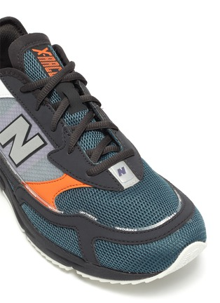 Detail View - Click To Enlarge - NEW BALANCE - 'X-Racer' colourblock panel perforated sneakers