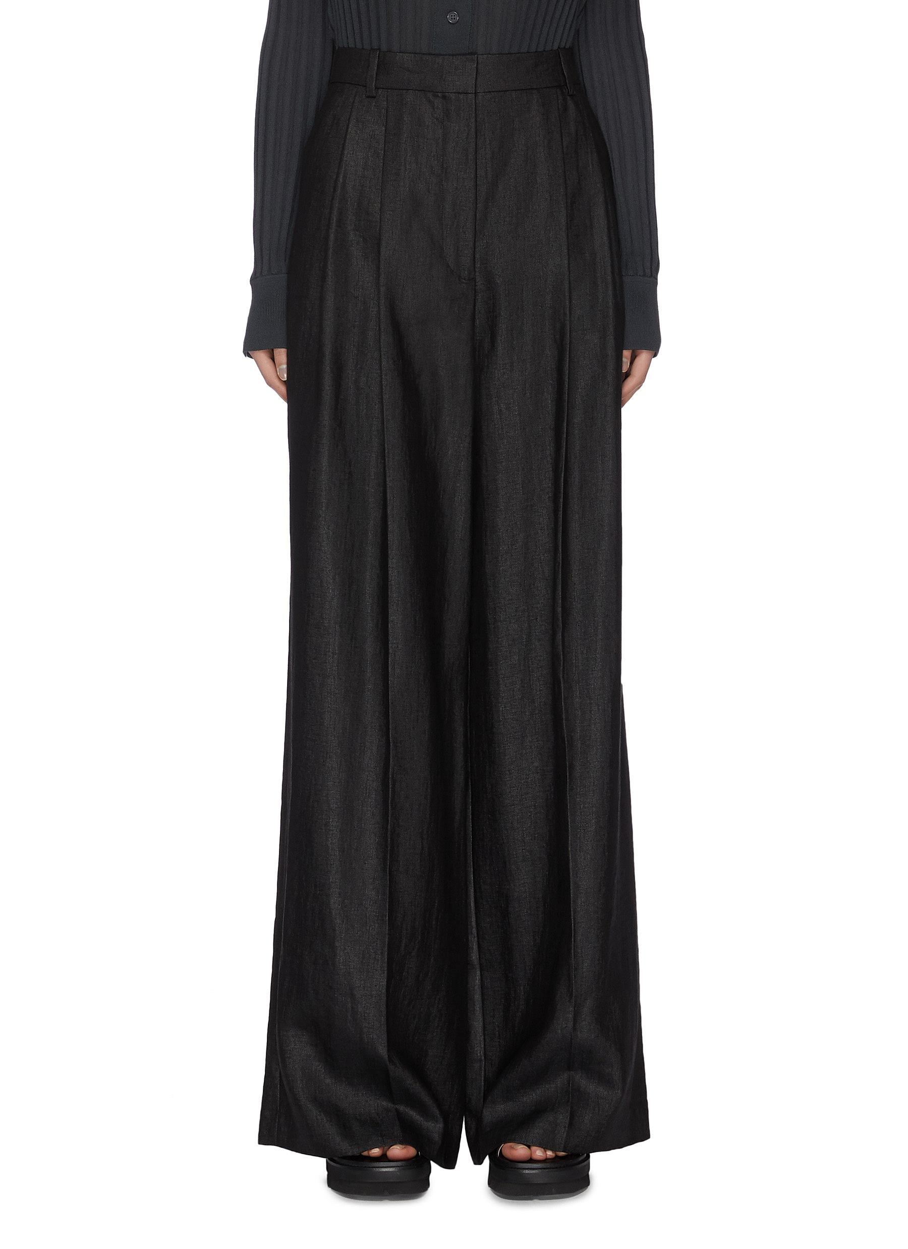 Buy Joseph Pants & Shorts Wide leg linen pants