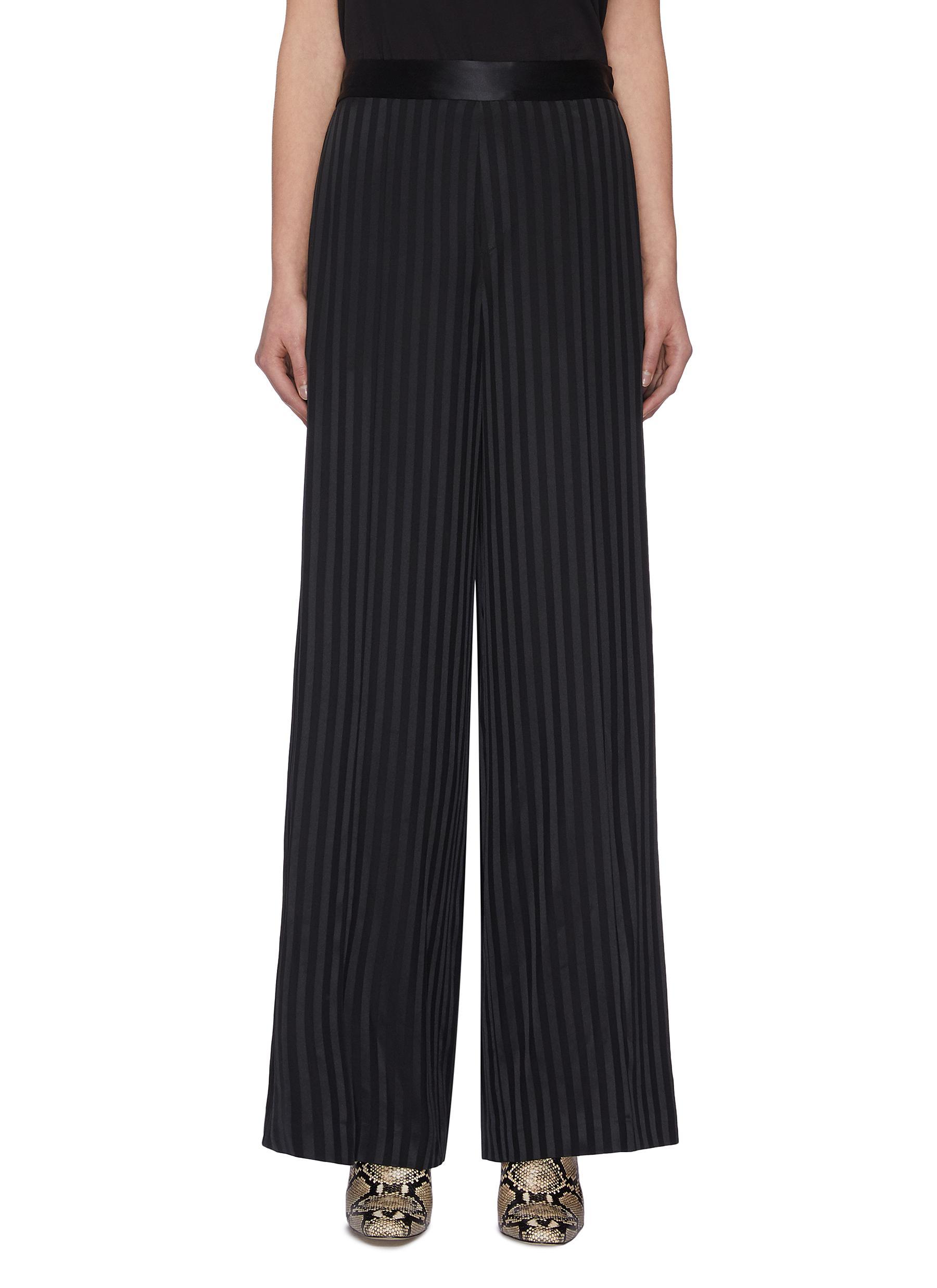 shop Joseph 'Mawn' stripe silk pyjama pants online