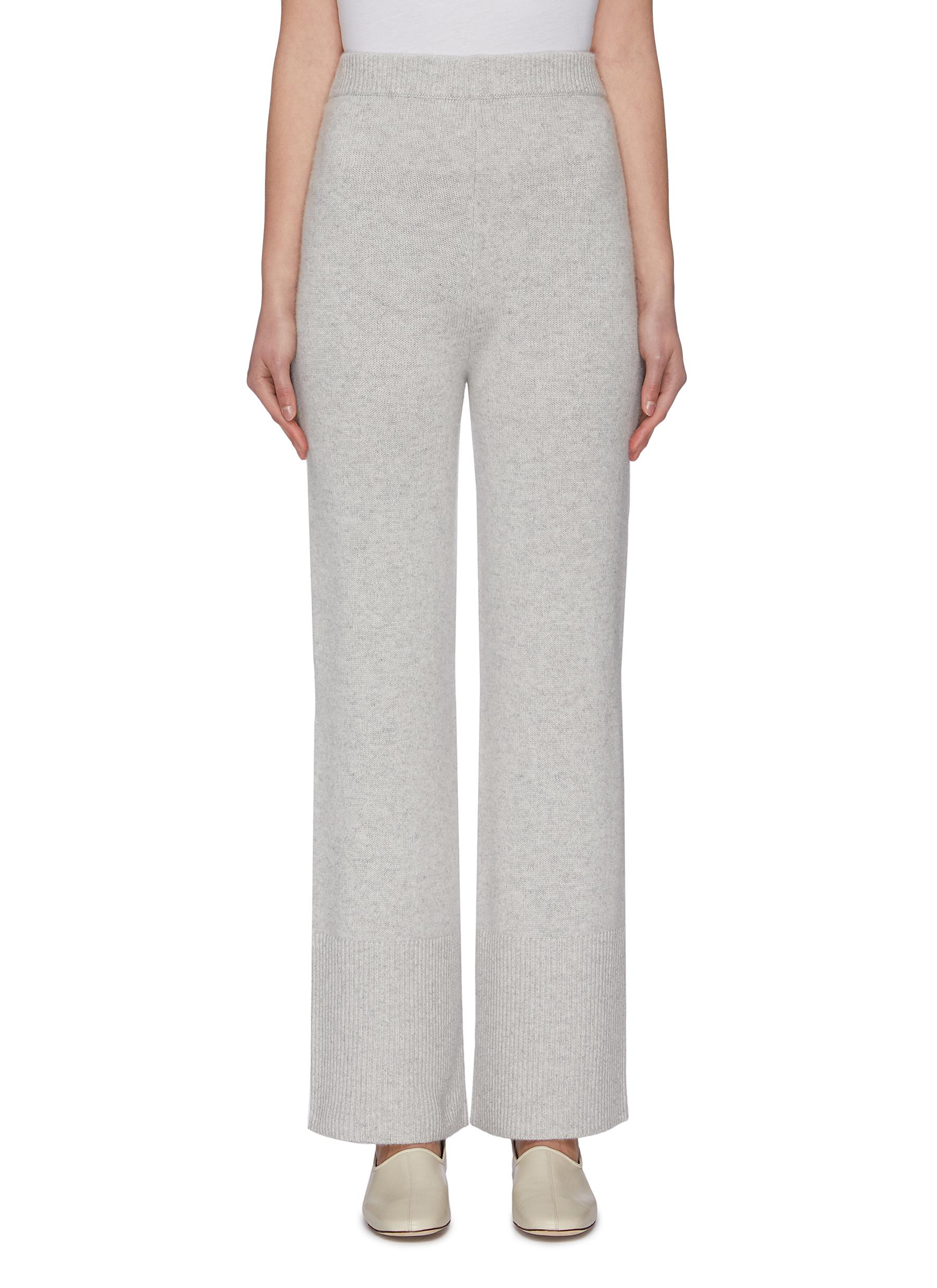 Buy Joseph Pants & Shorts Wide leg cashmere knit pants