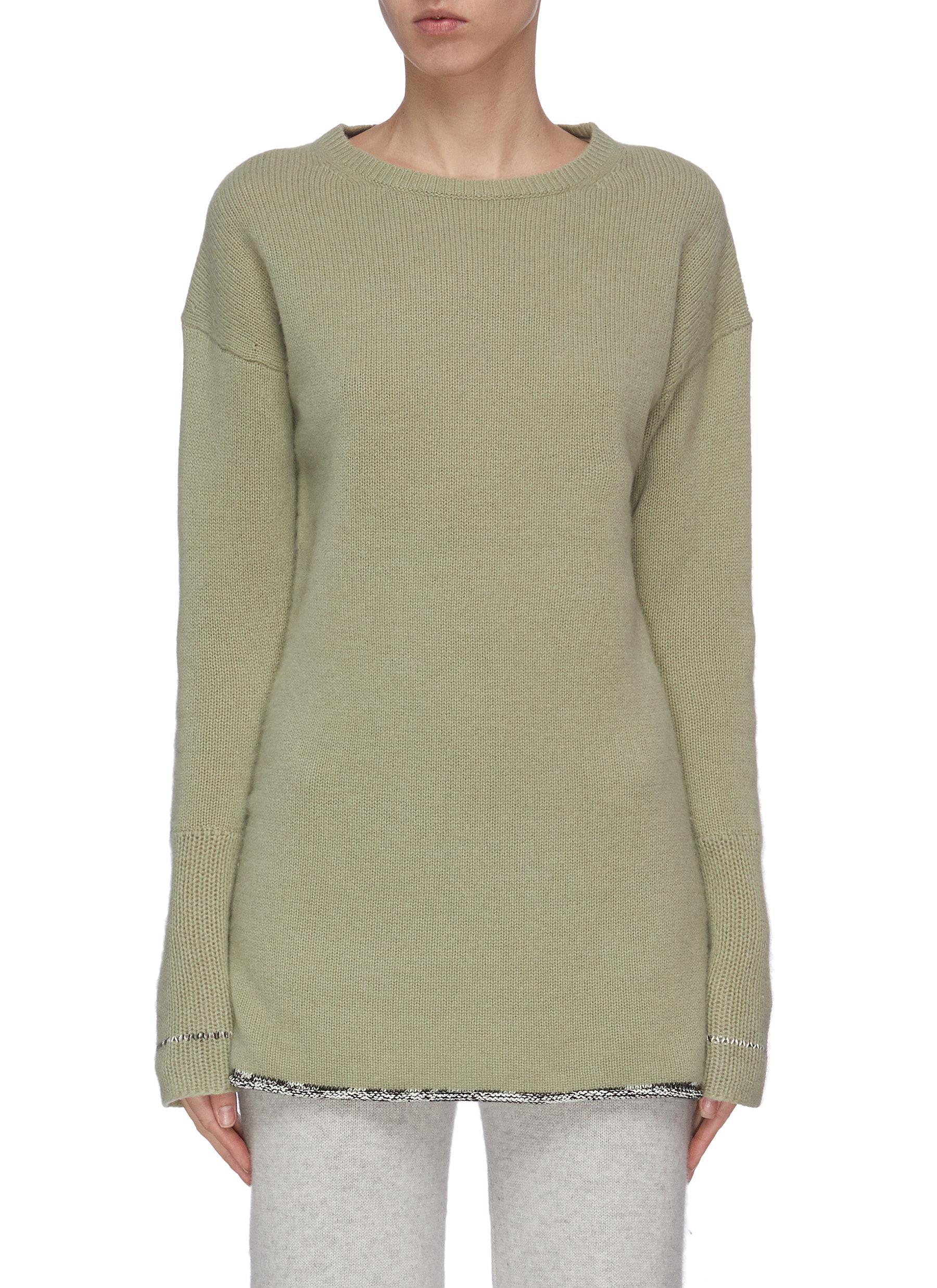 shop Joseph Distressed detail cashmere sweater online