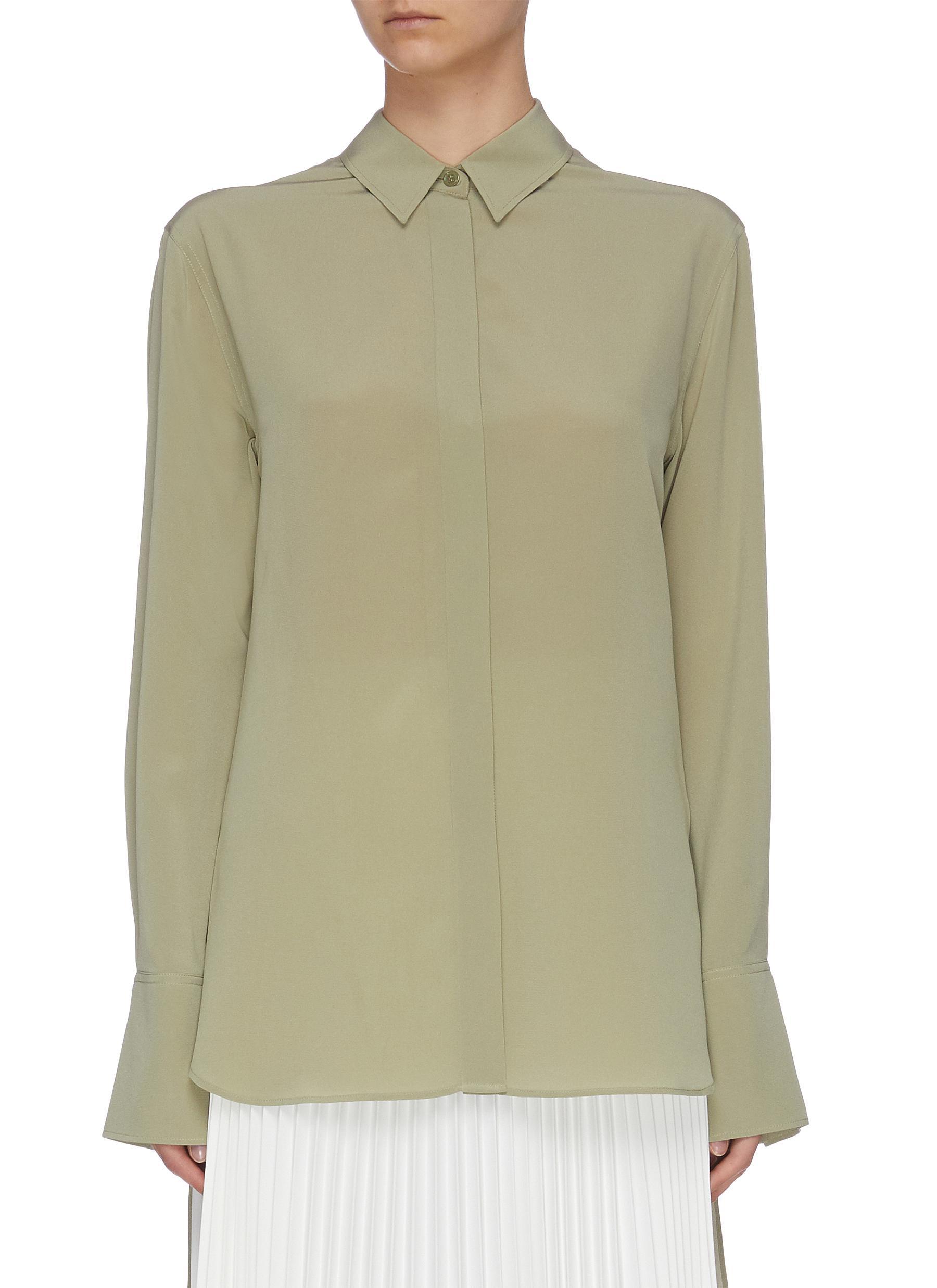shop Joseph Flared cuffs collar blouse online