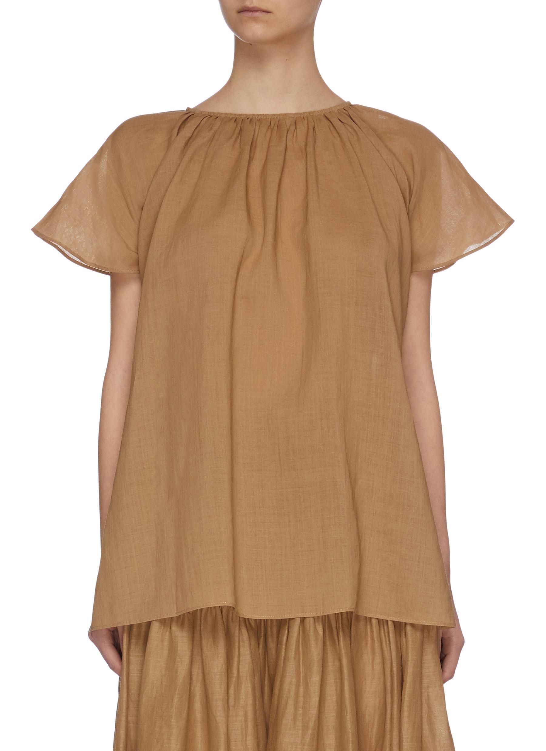 shop Joseph Flared sleeve ruffle top online