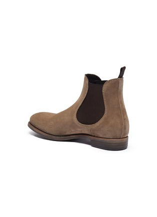 - PROJECT TWLV - 'Hanoi' suede sand leather boots