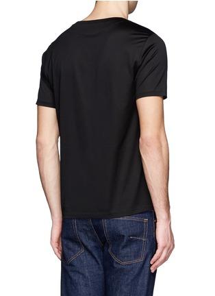 Back View - Click To Enlarge - PAUL SMITH - Magic mushroom print T-shirt