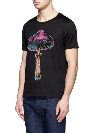 Front View - Click To Enlarge - PAUL SMITH - Magic mushroom print T-shirt