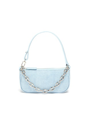Main View - Click To Enlarge - BY FAR - 'Mini Rachel' lizard embossed leather shoulder bag