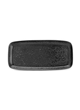 Main View - Click To Enlarge - L'OBJET - Alchimie large rectangle platter − Black