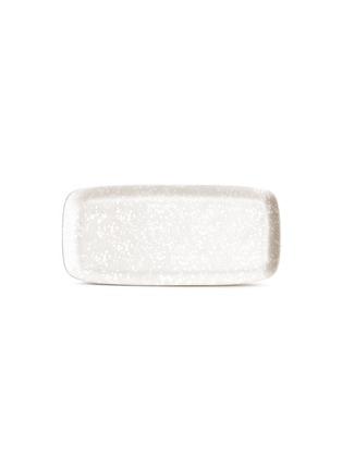 Main View - Click To Enlarge - L'OBJET - Alchimie medium rectangle platter − White